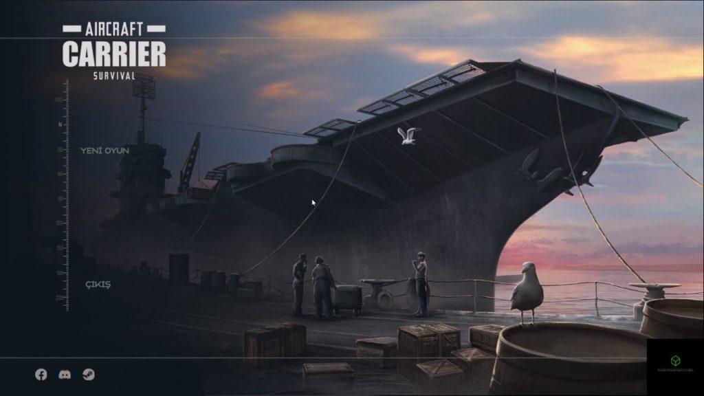 Aircraft Carrier Survival Prologue türkçe yama oyundan görüntü