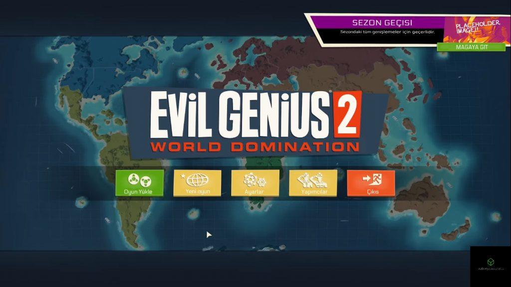 Evil Genius 2 World Domination türkçe indir